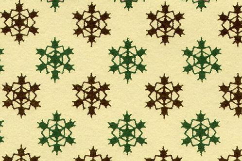 Carta Varese Disegni Geometrici Verde e Marrone 50x70cm (cod. 1477)
