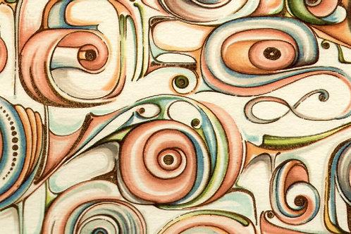 Carta con Disegno Fiorentino 50x70cm (cod.0409)