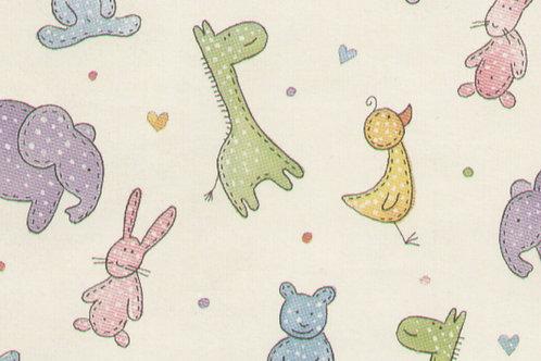 Carta con Animali Disegnati 50x70cm (cod.5214)