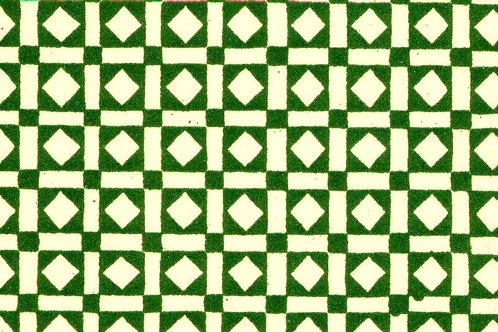 Carta Varese Disegni Geometrici Verde 50x70cm (cod. 0185)