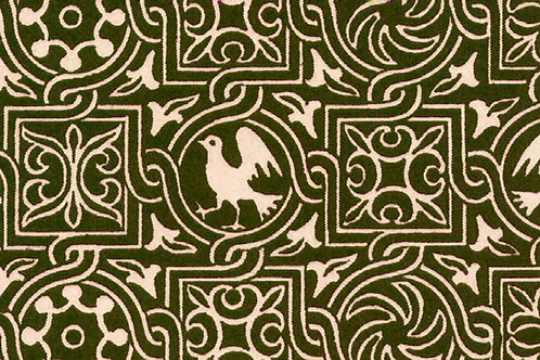 Carta Varese Uccelli Marrone 50x70cm (cod. 0178)