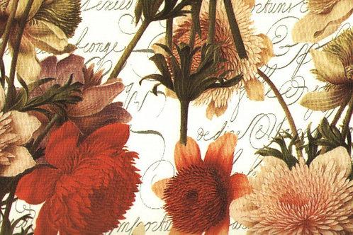 Carta Fiori RossiGialli 50x70cm (cod.6730)