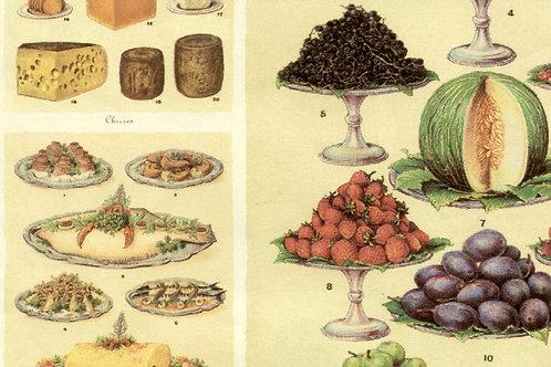 Carta Utensili da Cucina 50x70cm (cod. 1289)