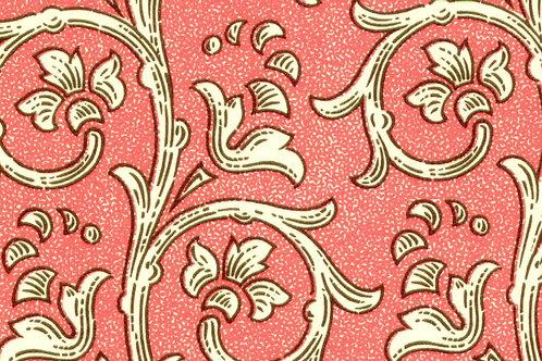 Carta Varese Fiorata Rosso 50x70cm (cod. 0814)