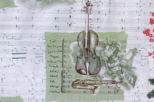 Carta con Violino 50x70cm (cod.2088)