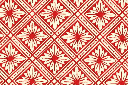 Carta Varese Disegni Geometrici Rosso 50x70cm (cod. 0079)