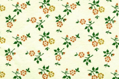 Carta Fiori Piccoli Arancioni 50x70cm (cod. 0228)