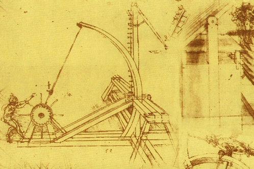 Carta con Disegni Meccanici 50x70cm (cod.6704)