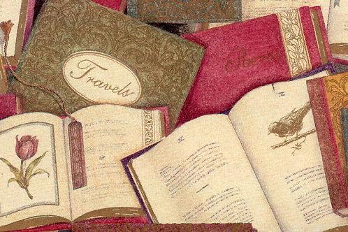 Carta con Libri 50x70cm (cod.1566)