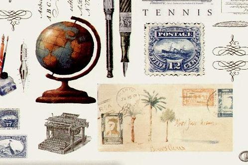 Carta con Oggetti 50x70cm (cod.6148)