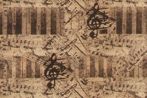 Carta con Chiave di Violino 50x70cm (cod.6118)