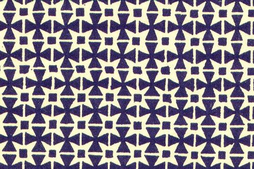Carta Varese Disegni Geometrici Blu 50x70cm (cod. 0063)