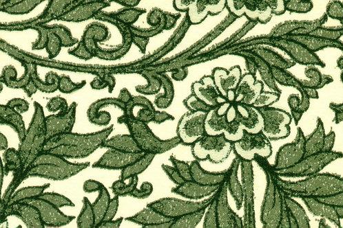Carta Varese Fiorita Verde 50x70cm (cod. 0161)