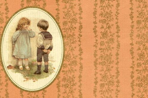 Carta con Bambini 50x70cm (cod.1042)