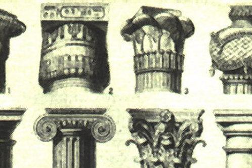Carta con Capitelli 50x70cm (cod.5036)