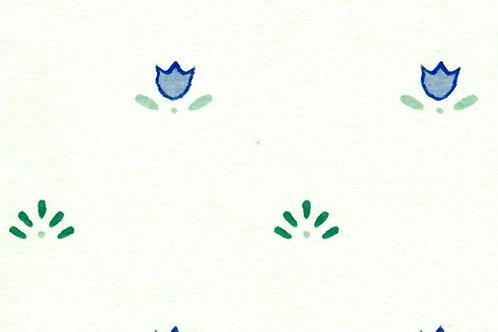 Carta Fiori Singolo Blu 50x70cm (cod. 0874)