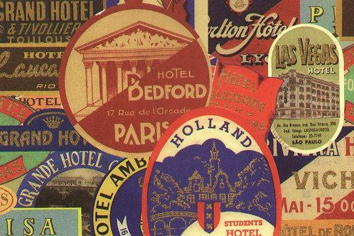 Carta Viaggi Hotel Europa 50x70cm (cod.5638)