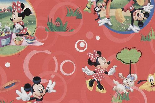 Carta con Topolino e Minnie 50x70cm (cod.5210)