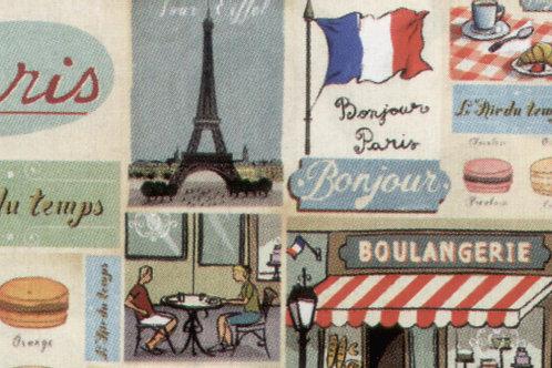 Carta Viaggi Paris 50x70cm (cod.5688)