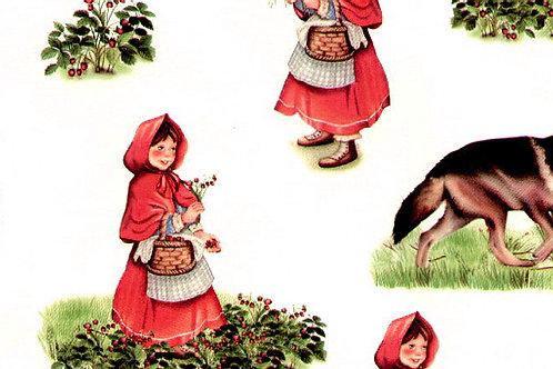 Carta Cappuccetto Rosso 50x70cm (cod.6093)