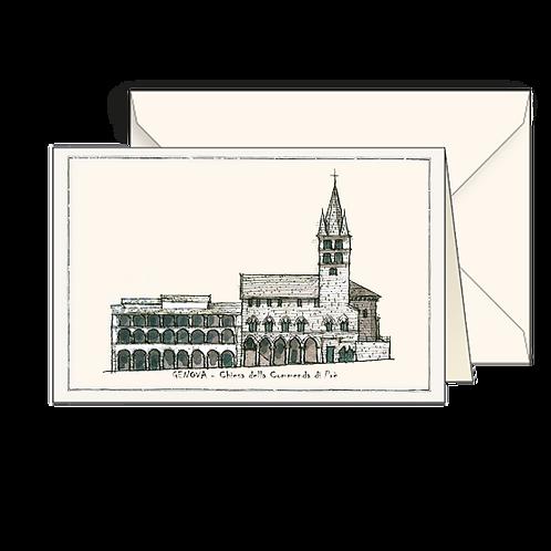 Biglietto Chiesa della Commenda di Prè