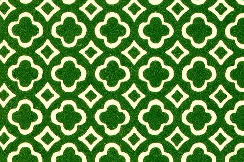 Carta Varese Disegni Geometrici Verde 50x70cm (cod. 0052)