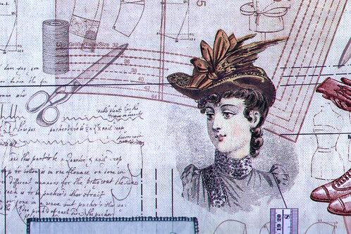 Carta con Accessori Moda 50x70cm (cod. 2091)