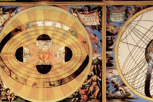 Carta con Astronomia 50x70cm (cod.1272)