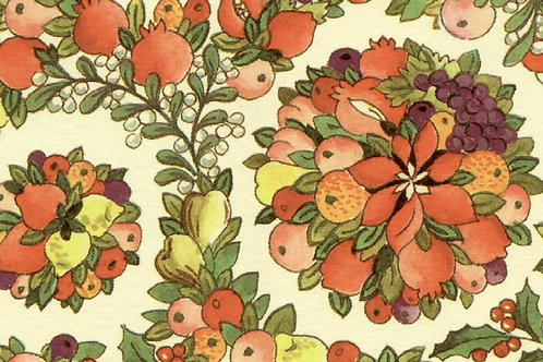 Carta Fiori Composizione Arancione 50x70cm (cod. 0880)