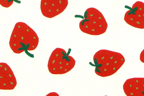 Carta Frutta Fragola 50x70cm (cod.5284)