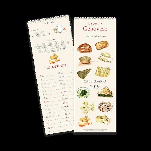 Calendario Cucina Genovese 2019