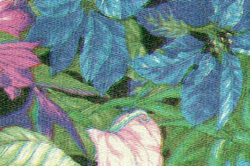 Carta Fiori BluRosa 50x70cm (cod. 0453)