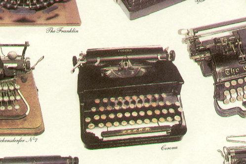 Carta con Macchina da Scrivere 50x70cm (cod.6068)