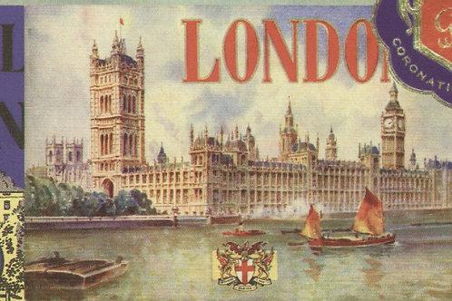Carta Viaggi London 50x70cm (cod.5831)