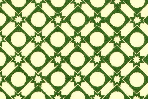 Carta Varese Disegni Geometrici Verde 50x70cm (cod. 0807)