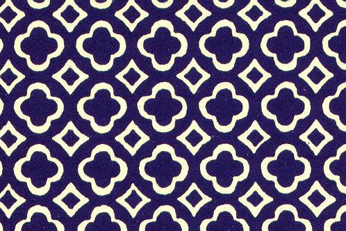 Carta Varese Disegni Geometrici Blu 50x70cm (cod. 0055)
