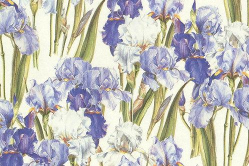 Carta Fiori Blu 50x70cm (cod. 6426)