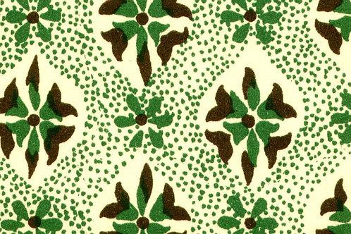 Carta Varese Disegni Geometrici Verde e Marrone 50x70cm (cod. 0806)