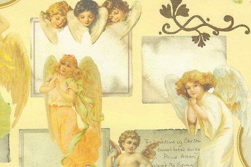 Carta con Angeli 50x70cm (cod. 6337)