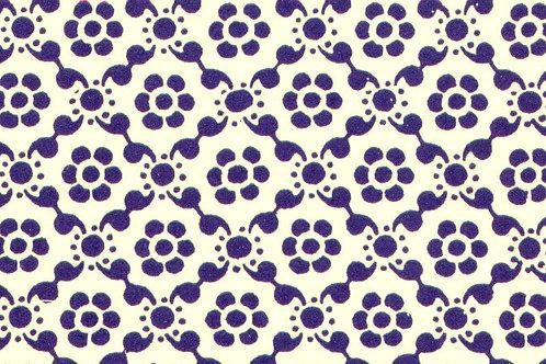 Carta Varese Disegni Geometrici Blu 50x70cm (cod. 0051)