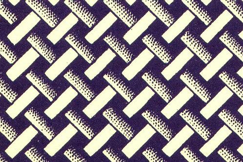 Carta Varese Disegni Geometrici Blu 50x70cm (cod. 0387)