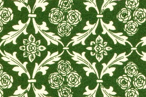 Carta Varese Fiorata Verde 50x70cm (cod. 0064)