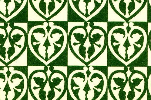 Carta Varese Disegni Geometrici Verde 50x70cm (cod. 1189)