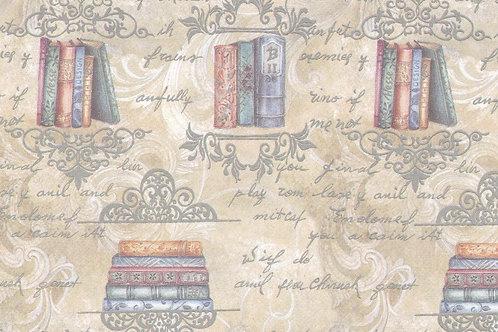 Carta con Libri 50x70cm (cod.5431)