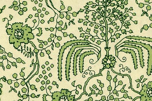 Carta Varese Fiorita Verde 50x70cm (cod. 0150)