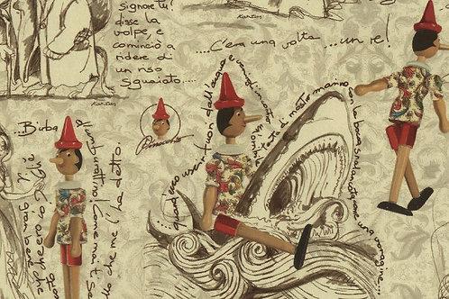 Carta con Pinocchio e Fatina 50x70cm (cod.2069)
