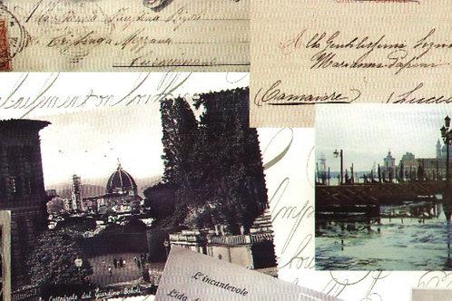 Carta Viaggi Bianco e Nero 50x70cm (cod.6716)