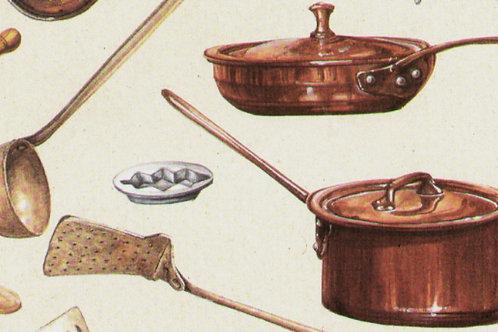 Carta Utensili da Cucina 50x70cm (cod. 5105)