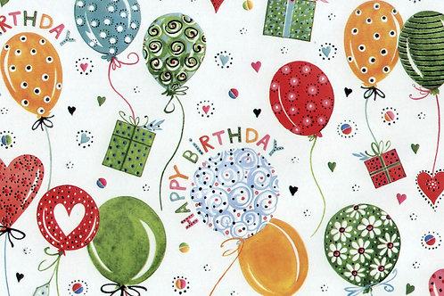 Carta Palloncini Compleanno 50x70cm (cod.2130)