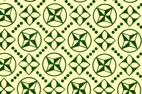 Carta Varese Disegni Geometrici Verde 50x70cm (cod. 0827)